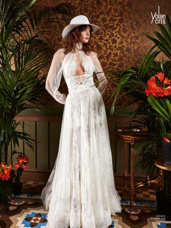 Abedul - Boho Chic - Yolan Cris - Haute Couture Wedding Dresses from Novia Brides
