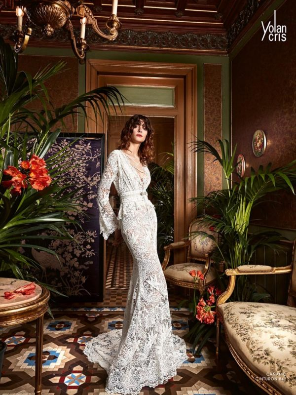 Canaamo - Boho Chic - Yolan Cris - Haute Couture Wedding Dresses from Novia Brides