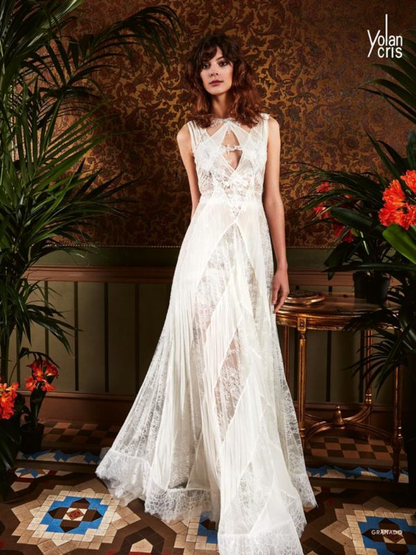 Granado - Boho Chic - Yolan Cris, Novia Brides - Haute Couture Wedding Dresses