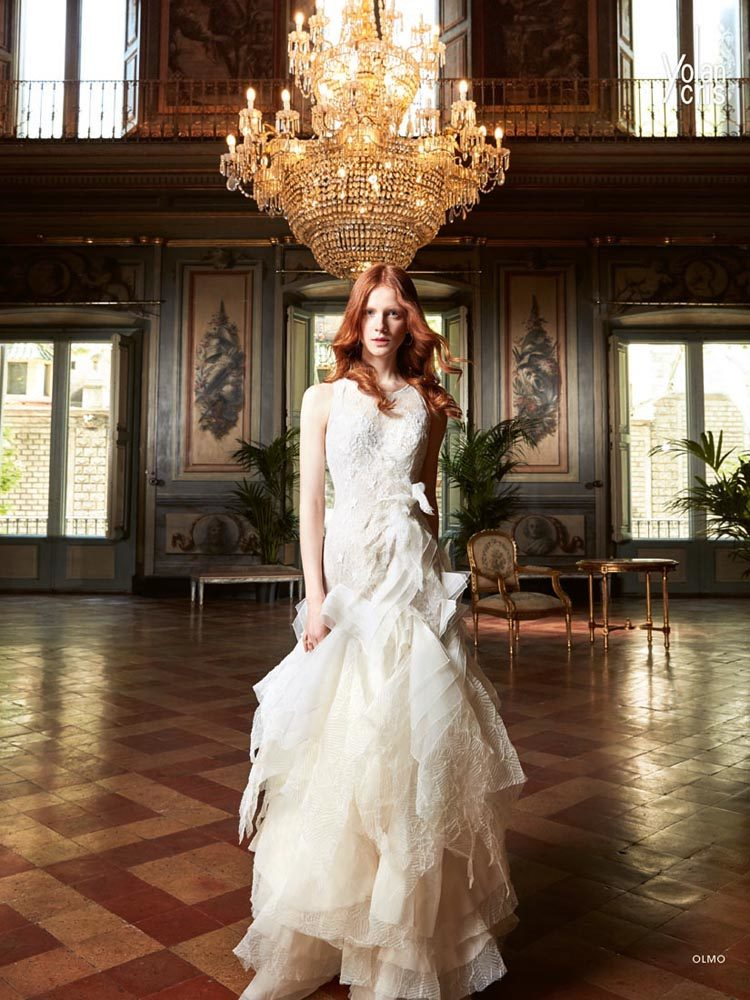 Olmo - Roman - Yolan Cris, novia Brides - Couture Wedding Dresses