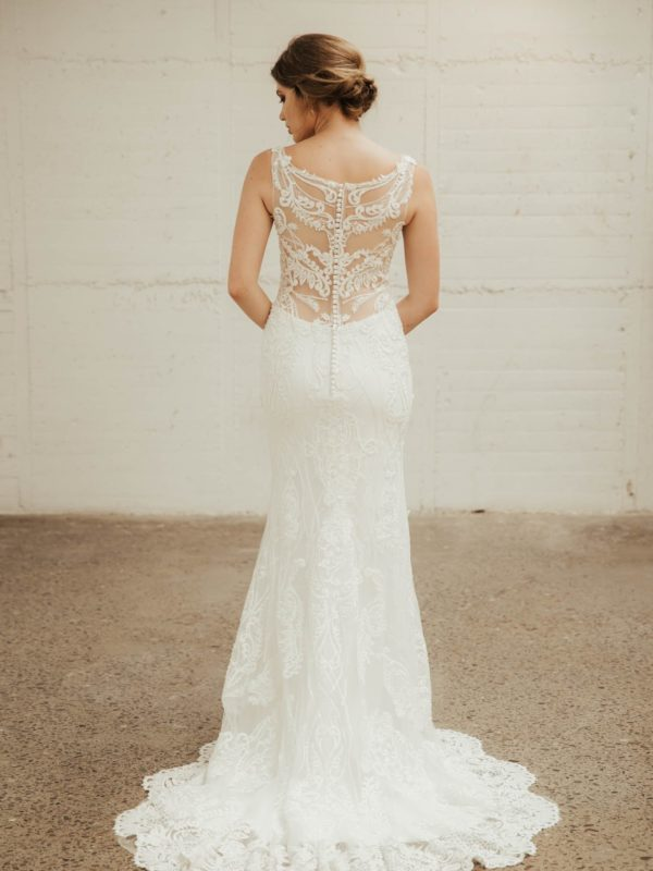 Dahlia Wedding Dress - Lainee Hermsen Bridal NZ