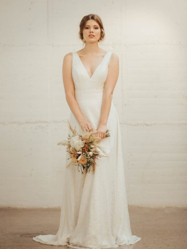 Danica Wedding Dress - Lainee Hermsen Bridal NZ