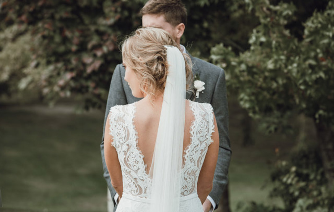 Real Wedding: Bluebell Wedding Dress by Daisy Brides, Katie Yeung. From Novia Brides Wanaka