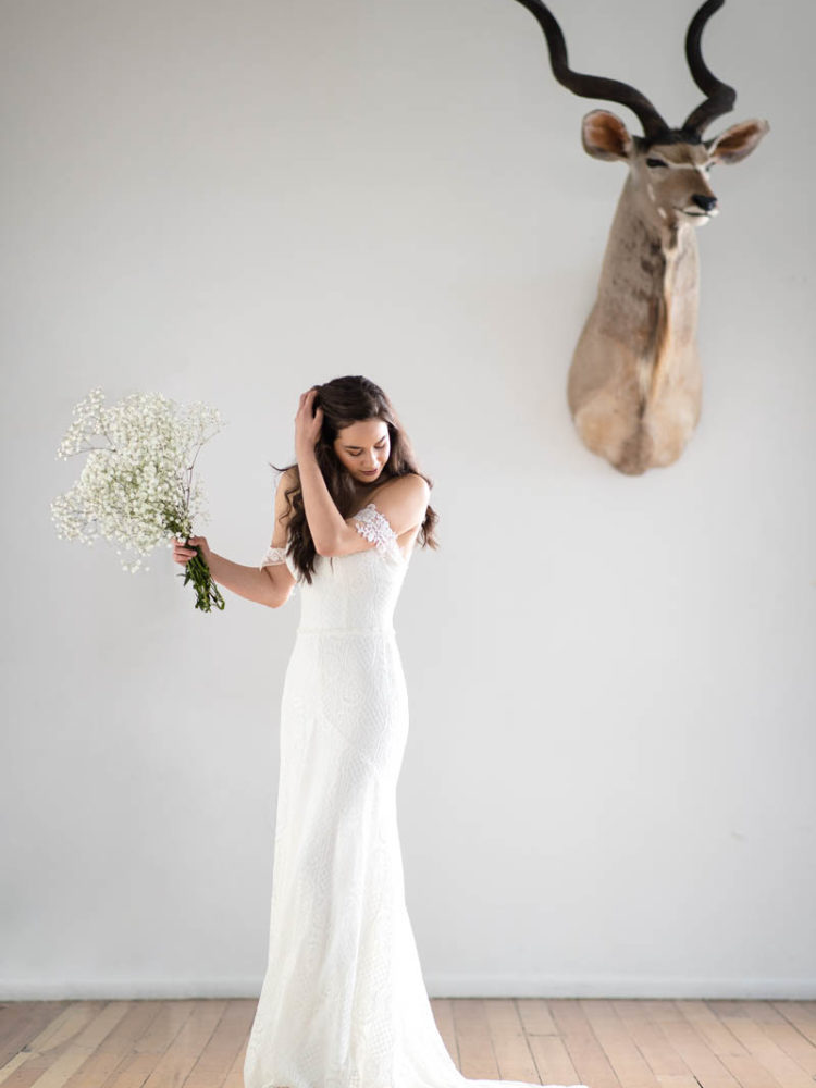 Aster Wedding Dress - Daisy, by Katie Yeung. Novia Brides, Wanaka, Otago