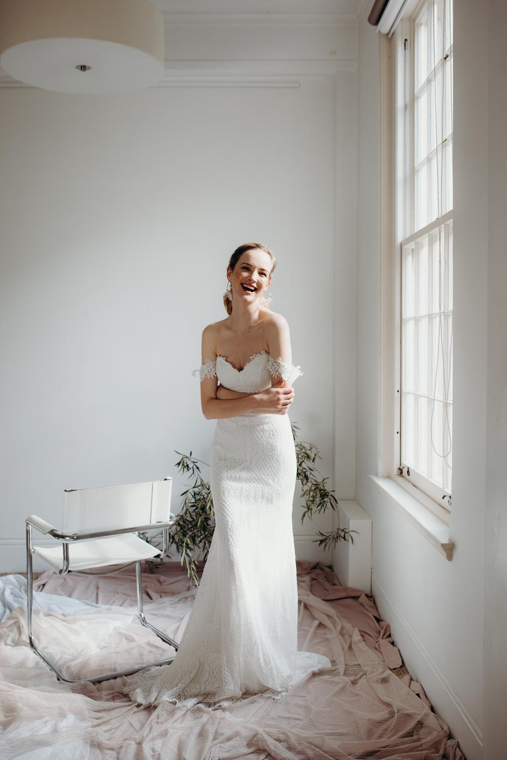 Aster wedding dress by Daisy