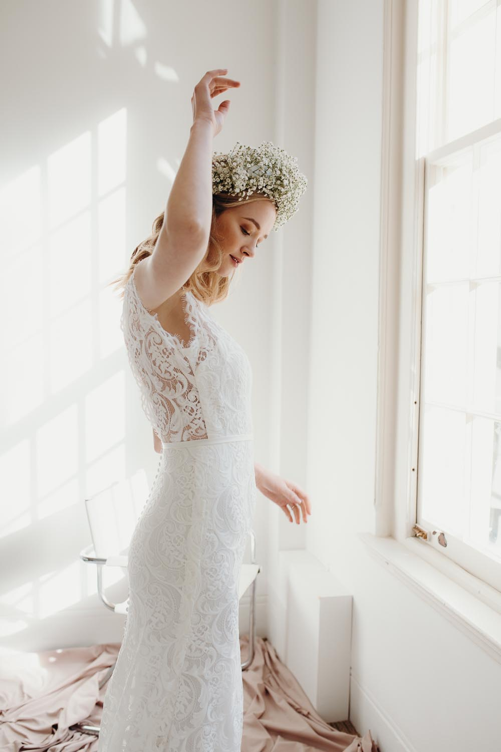 Bluebell wedding dress by Daisy