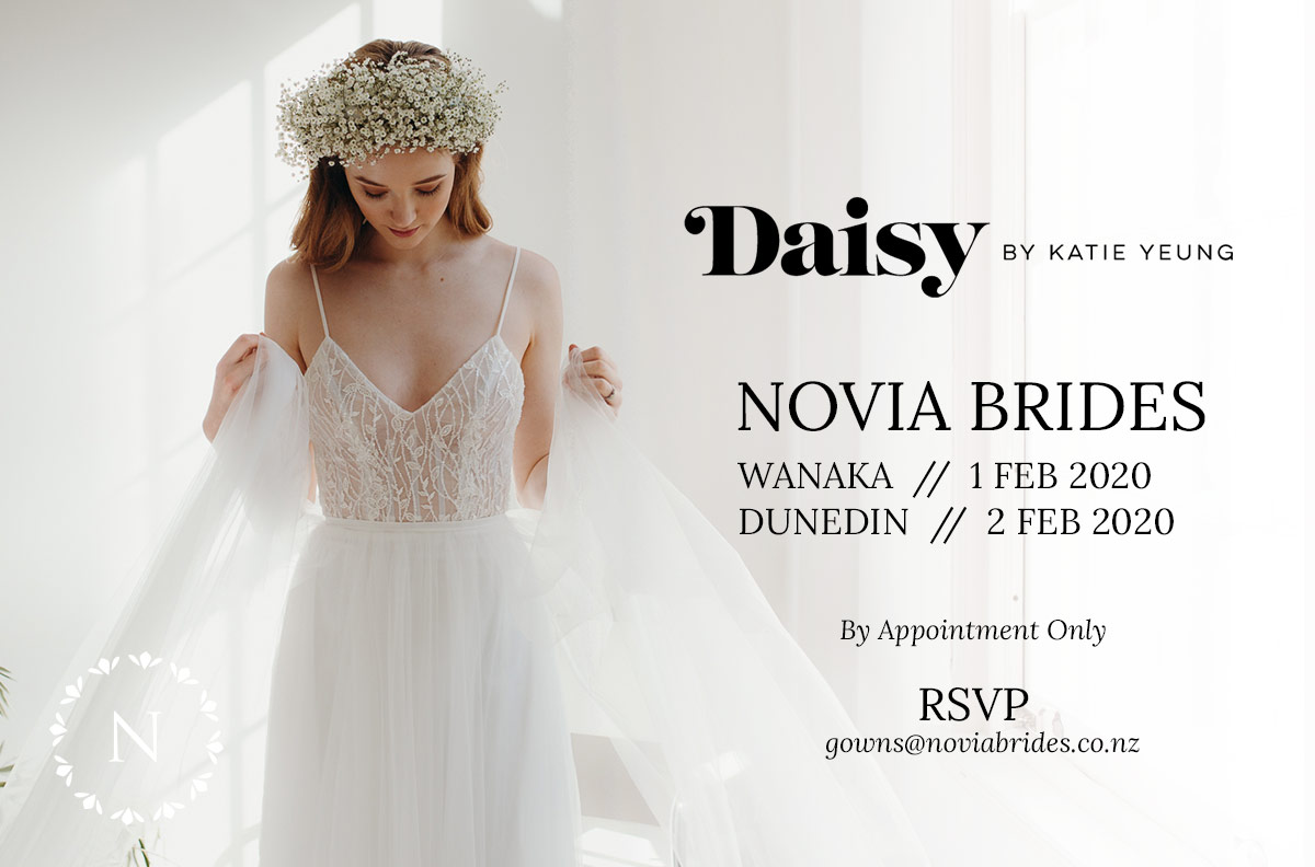 Daisy Brides Trunk Show Dunedin and Wanaka