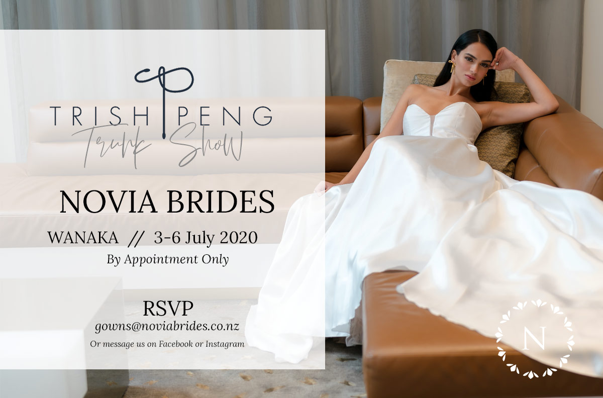Trish Peng - Wanaka trunk show at Novia Brides